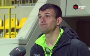 Венци Василев: Картоните повлияха, по-фатални бяха пропуските ни