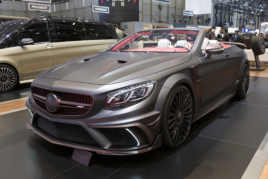 Mansory Mercedes S-Convertible