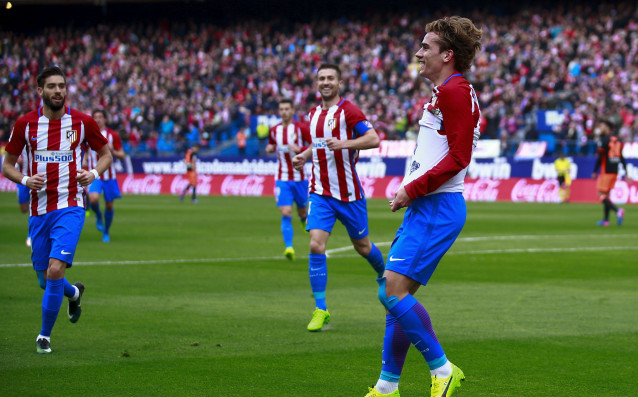 Френската звезда на Атлетико Мадрид Антоан Гризман отново е в
