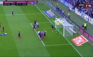 Кадри от поражението на Барса от Депортиво Ла Коруня