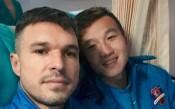 Божинов във вихъра си след първия си гол в Китай