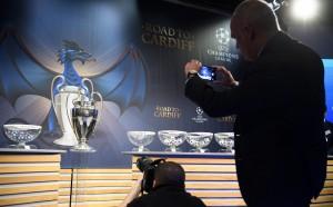 Как футболистите реагираха на жребия в Шампионска лига