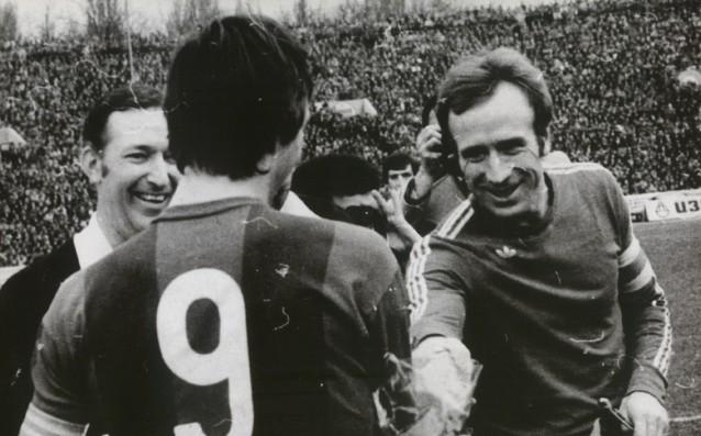 Левски - Барселона през 1976 г. източник: levski.bg