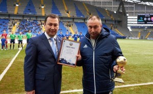Астана на Мъри продължава в Шампионска лига