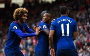 Манчестър Юнайтед с победа номер 600 във Висшата лига
