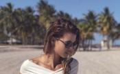 Гореща Пиронкова пробва плажа в Маями преди срещата с швейцарка