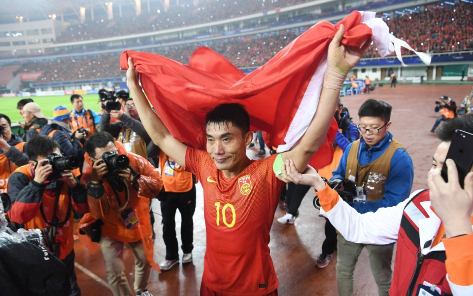 Всички футболисти на националния тим на Китай, както и всички