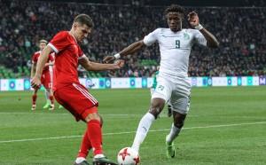 С чуден гол Кот д'Ивоар наказа Русия