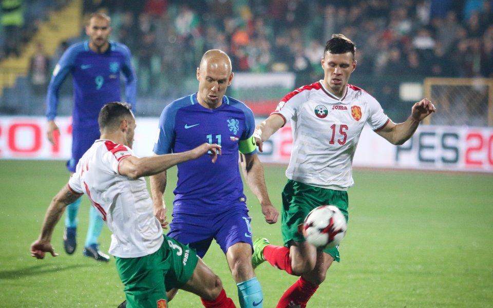 Грък свири Холандия - България