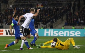 Германия допусна първи гол, но е с пълен актив от точки