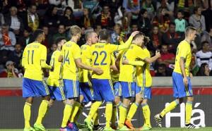Швеция обърна европейския шампион в мач с два автогола