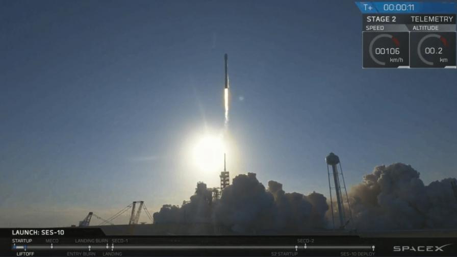 SpaceX успешно приземи използвана космическа ракета
