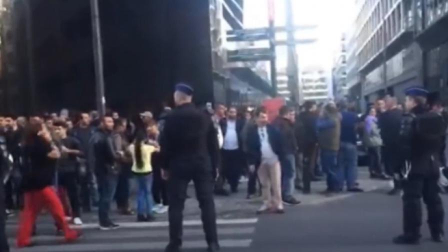 Сблъсъци и ранени пред турското консулство в Брюксел