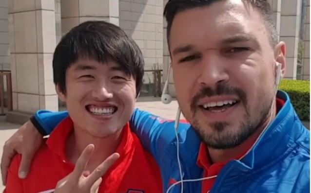 Праско и Валери Божинов<strong> източник: instagram.com/valeribojinov86</strong>