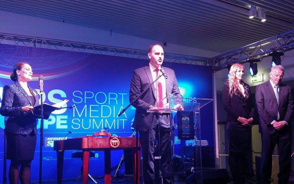 """Петър Стойчев на """"Вечер на шампионите"""" със спортни журналисти от Европа"""