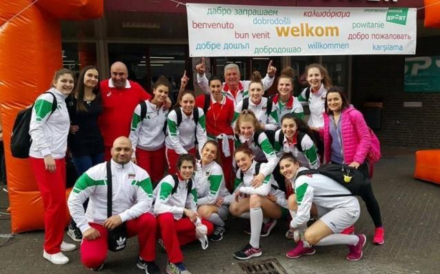 Национален отбор по волейбол за девойки<strong> източник: volleyball.bg</strong>
