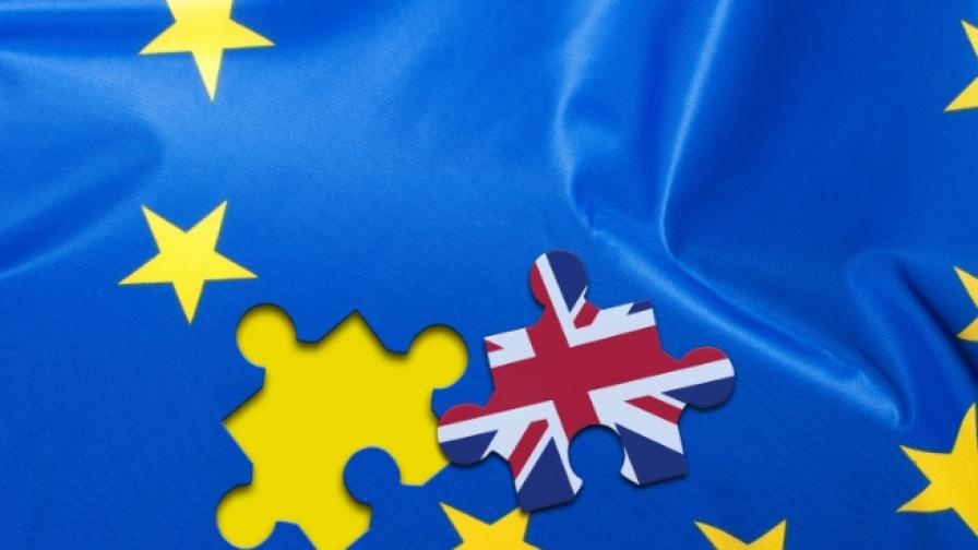 """МВФ с мрачна прогноза за Великобритания след """"Брекзит"""""""
