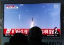 Южнокорейска телевизия излъчва информация за изстреляната от КНДР ракета