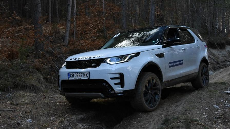 Диското отново е на мода с Land Rover Discovery (тест драйв)