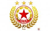 ЦСКА представи новата си юбилейна емблема