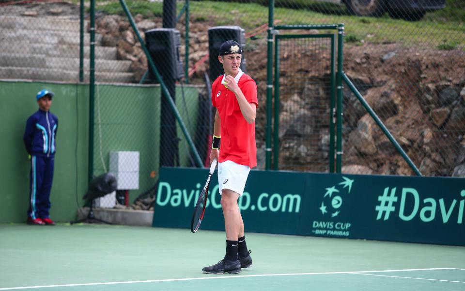 Лазаров стигна до четвъртфинал в Грузия