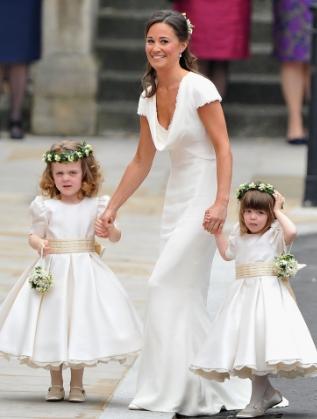 Пипа Мидълтън на сватбата на Уилям и Кейт