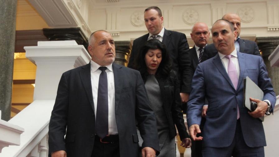 Борисов и ОП на финални преговори за кабинета