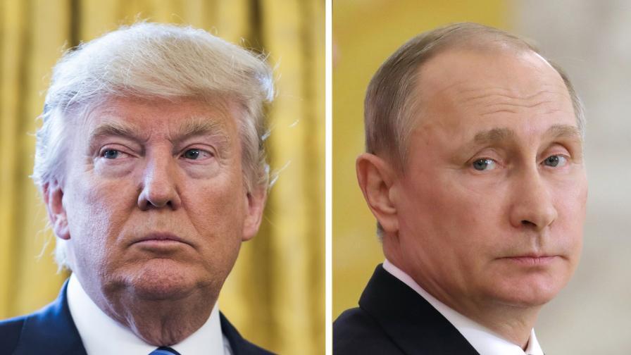 <p>Тръмп: Руската намеса е измама, Путин му прати поздрав</p>