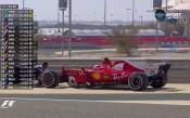 Фетел първи на тренировката, Мерцедес-ите назад в Бахрейн