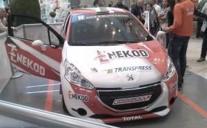 Рали шампион представи новия си автомобил