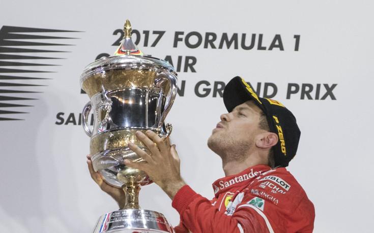 Ферари ликува в Бахрейн, Фетел взе втора победа