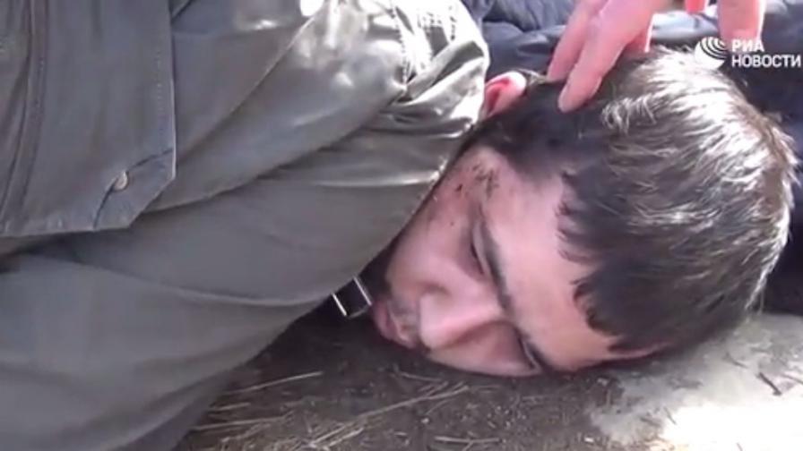 Кадри от задържането на Аброр Азимов