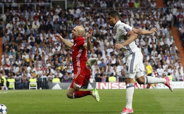 Реал Мадрид - Байерн Мюнхен 4:2 (след продължения) източник: БГНЕС