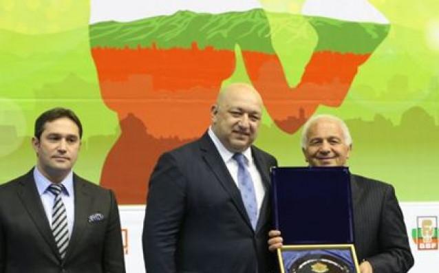 Отляво надясно - Красимир Инински, Красен Кралев и Франко Фалчинели<strong> източник: БФБокс</strong>