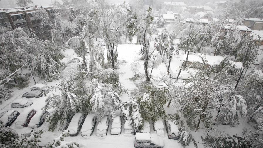 Дъжд и студ у нас, зимата е на Балканите