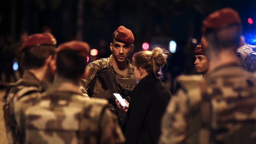 """Разбраха кой е нападателят от Париж, жертвата му - герой от """"Батаклан"""""""