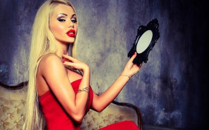 Щерка на гимнастичка стана еротичен модел