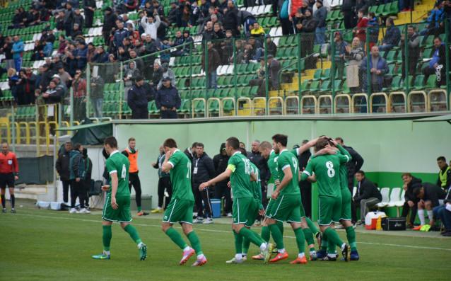 Радост за Пирин на стадион Христо Ботев<strong> източник: LAP.bg</strong>