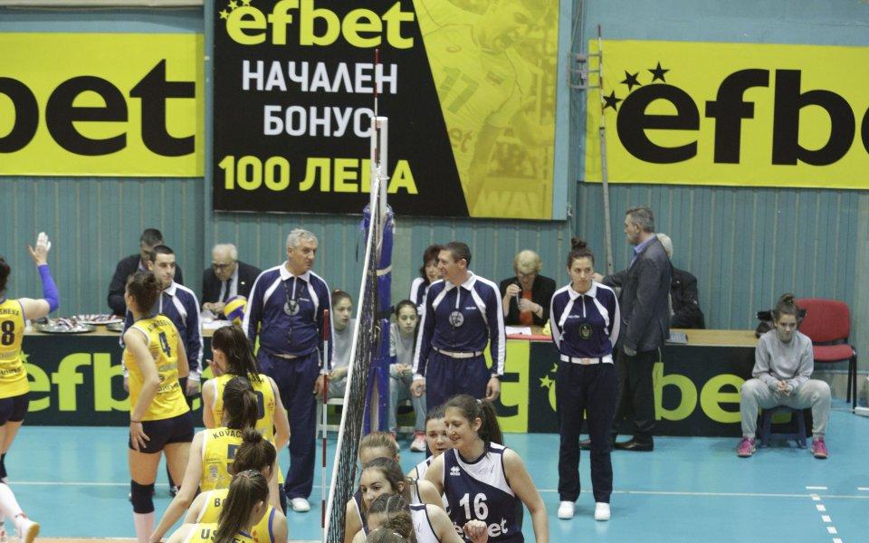 Триумфът на шампионките от ВК Марица в снимки