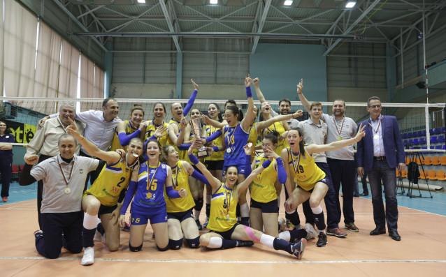 Триумфът на ВК Марица източник: LAP.bg