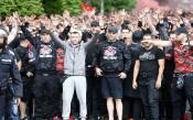 Шествието на ЦСКА<strong> източник: LAP.bg, Илиан Телкеджиев</strong>