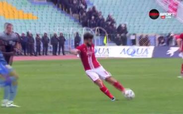 Левски - ЦСКА 0:2 /първо полувреме/