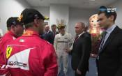 Владимир Путин в Сочи за Гран при на Русия