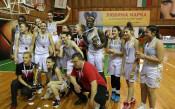 Избрани кадри от триумфа на БК Хасково
