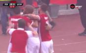 Голът на Каранга срещу Левски