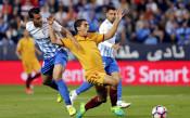 Малага спря Севиля в борбата за третото място