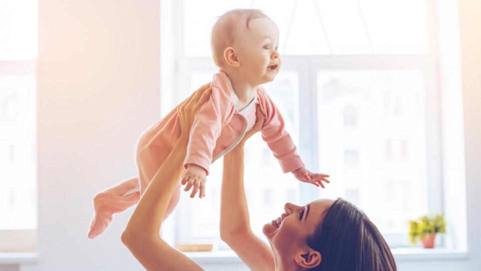Упражнения за мама и бебе