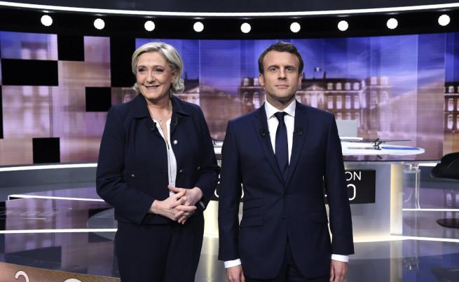 Дебат Макрон - Льо Пен, тя промени тактиката