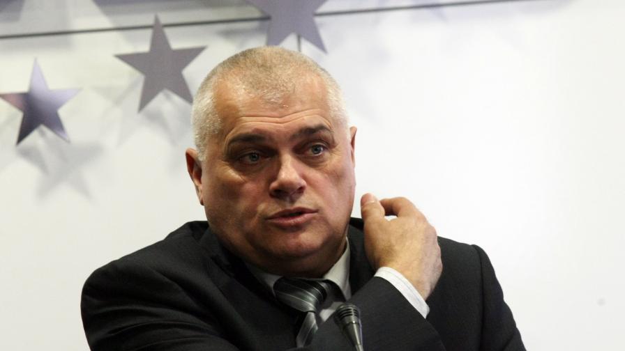Новият шеф на МВР Валентин Радев