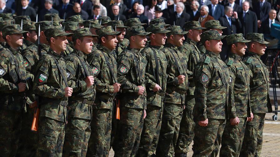 Военния парад в столицата по повод 6 май – Ден на храбростта и празник на българската армия.